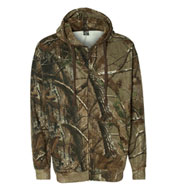 Custom Realtree® Hooded Full-Zip Sweatshirt by Code V