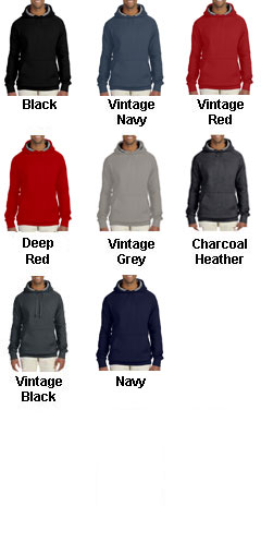 Hanes Nano Pullover Hooded Sweatshirt - All Colors