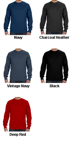 Hanes Nano Crew Neck Sweatshirt - All Colors