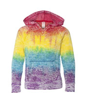 Girls Courtney V-Notch Sweatshirt