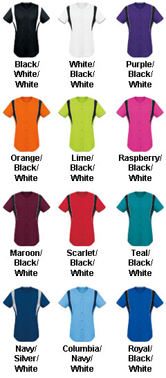Womens Faux Front Jersey - All Colors