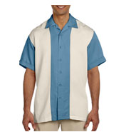 Mens Two-Tone Bahama Camp Shirt