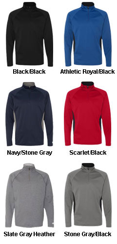 Champion 5.4 oz Performance Colorblock Quarter-Zip Pullover - All Colors