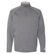 Custom Champion 5.4 oz Performance Colorblock Quarter-Zip Pullover Mens