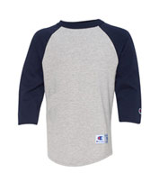 Custom Champion Youth Raglan Baseball T-Shirt