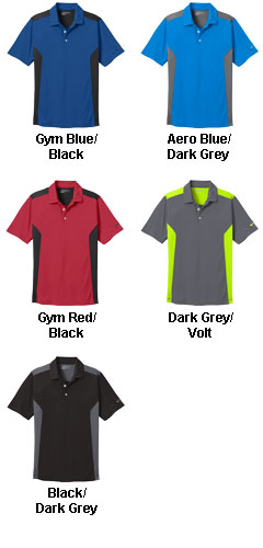 Nike Golf Dri-FIT Engineered Mesh Polo - All Colors