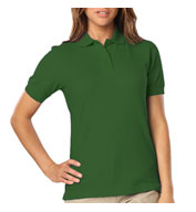 Custom Ladies Stain Release Wicking Polo