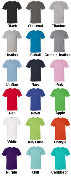 Adult Fine Jersey T-Shirt - All Colors