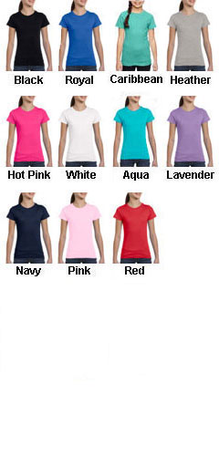 Girls Fine Jersey Long T-Shirt - All Colors