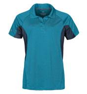 Womens Laguna Technical Two-Tone Polo
