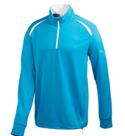 Custom Puma Golf Long Sleeve 1/4 Zip Top Mens
