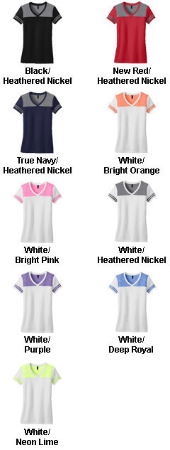 Juniors Varsity V-Neck Tee - All Colors