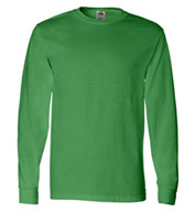 Custom Fruit of the Loom Long Sleeve T-Shirt Mens