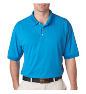 UltraClub Mens Platinum Performance Pique Polo