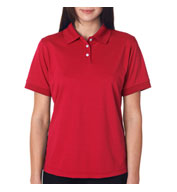 Custom UltraClub Ladies Platinum Performance Pique Polo