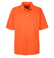 Custom UltraClub Mens Cool and Dry Stain Release Polo Shirt