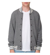 American Apparel Unisex Terry Club Jacket
