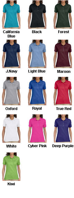 Jerzees Ladies 50/50 Jersey Polo with SpotShield� - All Colors