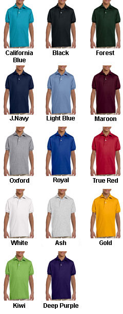 Jerzees Youth 50/50 Jersey Knit Polo with SpotShield™ - All Colors