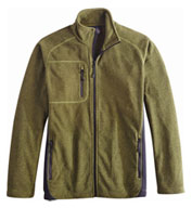 Custom Prospector Heathered Fleece Mens
