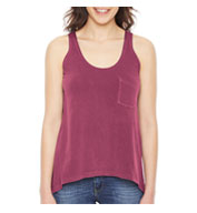 Pigment Dyed Summer Pocket Tank
