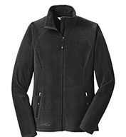 Custom Eddie Bauer® Ladies Full-Zip Microfleece Jacket