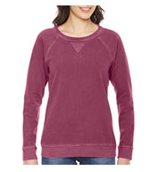 Authentic Pigment Ladies French Terry Crew