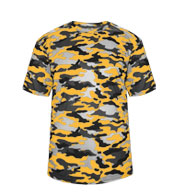 Custom Badger Youth Camo Tee
