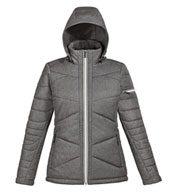 Custom Ladies Avant Tech Melange Insulated Jacket with Heat Reflect Technology