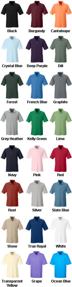 Mens DryTec Performance Polo  - All Colors