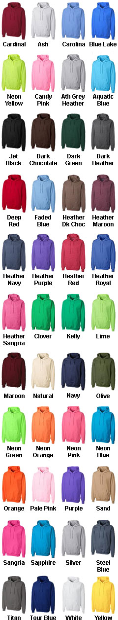 Basic Fleece Pullover Hoodie  - All Colors