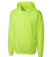 Basic Fleece Pullover Hoodie in Big Sizes