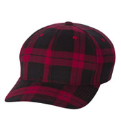 Custom Yupoong Flexfit® Tartan Plaid Cap