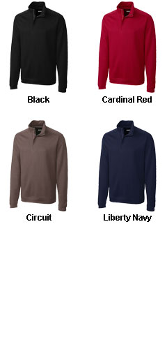 Mens Pima Decatur Half Zip - All Colors