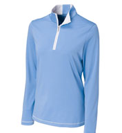 Ladies CB DryTec™ Choice Zip Mock