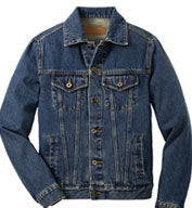 Custom Classic Mens Denim Jacket
