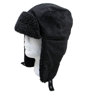 Fleece Lined Hat with Earflaps