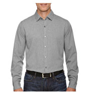 North End Central Ave Mens Melange Performance Dress Shirt