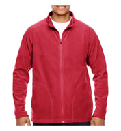 Custom Mens Campus Microfleece Jacket Mens