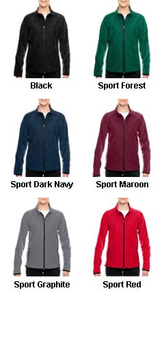 Ladies Pride Microfleece Jacket - All Colors