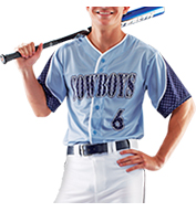 Custom Sublimated Prosphere Baseball Jerseys