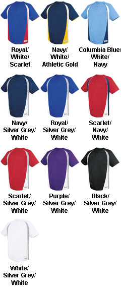Adult Ace Two Button Jersey - All Colors