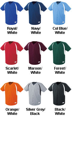 Adult Impact Full Button Jersey - All Colors