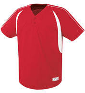 Custom Adult Impact Two-Button Jersey Mens