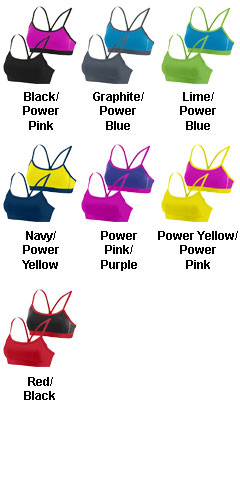 Girls Encore Reversible Sports Bra - All Colors