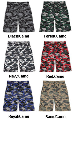 Youth Camo Sport Short - All Colors