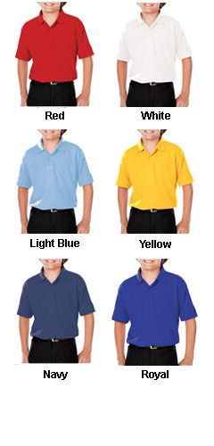 Youth Moisture Wicking Value Polo - All Colors