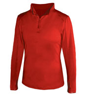 Custom 1/4 Zip Ladies Lightweight Pullover