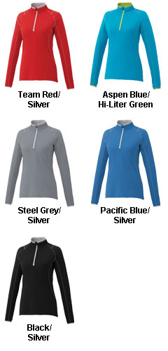 Womens Knew Half Zip - All Colors