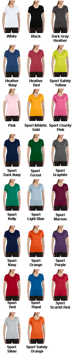 All Sport Ladies Sport Performance T-Shirt - All Colors